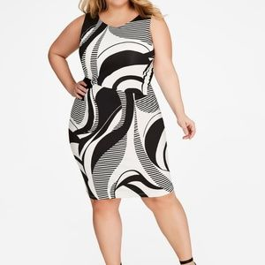 Ashley Stewart Side Knot dress